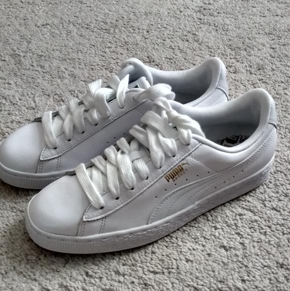 Puma Shoes | Basket Low | Poshmark